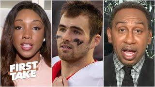 Stephen A. and Maria Taylor react to Jake Fromm's apology for 'elite white people' text   First Take