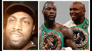 'DESPERATE! - FOOLERY! - MOCKERY!' - DEAN WHYTE REACTS TO DEONTAY WILDER CALLING OUT DILLIAN WHYTE