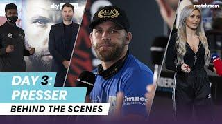 Fight Week, Day 3: Billy Joe Saunders vs Martin Murray - Press Conference (Behind The Scenes)