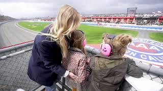 All Access: Jimmie Johnson's family waves green flag at Fontana | NASCAR Cup Series