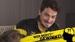 Don't get distracted!   BVB-Challenge with Mats Hummels & Marcel Schmelzer