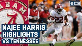 Najee Harris Highlights vs. Tennessee Volunteers | 10-24-2020 | CBS Sports HQ