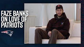 FaZe Banks Shares a Message for the Patriots 2020 Draft Class