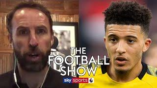 Gareth Southgate names the ONE challenge Jadon Sancho will face if he leaves Borussia Dortmund