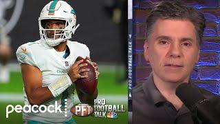 Will Miami Dolphins regret not taking Justin Herbert over Tua? | Pro Football Talk | NBC Sports