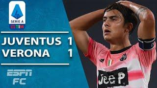 Juventus frustrated by Hellas Verona in 1-1 draw | ESPN FC Serie A Highlights