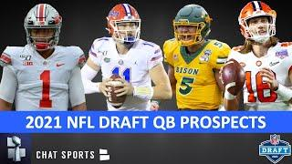 2021 NFL Draft QB Prospect Rankings: Trevor Lawrence, Justin Fields & Trey Lance Lead The Way