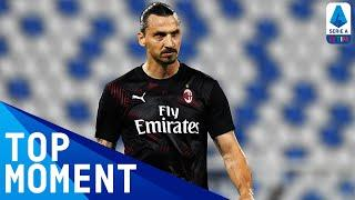 Zlatan Scores to put Milan 2-0 up Away at Lazio! | Lazio 0-3 Milan | Top Moment | Serie A TIM