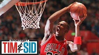 Kendrick Perkins On The Debate Between Michael Jordan & LeBron James | Tim & Sid