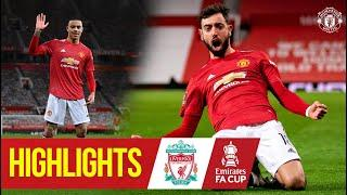 Fernandes stunner wins five-goal thriller!   Manchester United 3-2 Liverpool   Emirates FA Cup