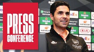 Mikel Arteta on David Luiz, Mo Elneny's form, Saliba, Molde | Europa League Press Conference