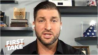 Tim Tebow's thoughts on the Big Ten's return and the College Football Playoff | First Take