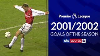 The Greatest EVER Premier League Goals! | 2001/2002 Goals of the Season