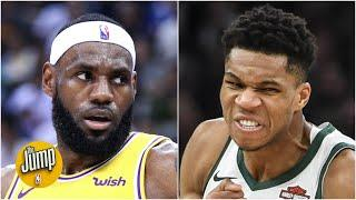 With the NBA awards season over, is LeBron or Giannis the MVP? | The Jump