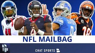 NFL Trade Rumors ft. Deshaun Watson & Matthew Stafford + Julio Jones Or AJ Green To Colts? | Mailbag
