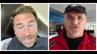'I WOULD NEVER BACK AGAINST JOHN FURY - HE DOESN'T NEED AN EXCUSE FOR A TEAR-UP' - EDDIE HEARN