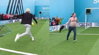 James Maddison involved in the WEIRDEST end to volleys EVER!   Volley Challenge