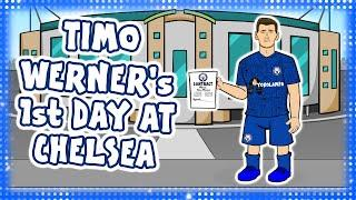 TIMO WERNER's 1st DAY AT CHELSEA! (Not Liverpool)