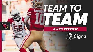 Previewing Week 1 vs. 49ers w/ Cam Inman of Bay Area News Group | Cardinals Team to Team