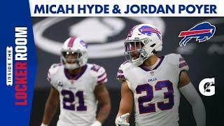 Jordan Poyer and Micah Hyde React to Bills' Victory | Buffalo Bills