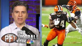 Cleveland Browns' ground game beats Joe Burrow, Cincinnati Bengals | Pro Football Talk | NBC Sports