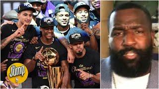 A championship, is a championship! - Kendrick Perkins says the Lakers earned the title | The Jump