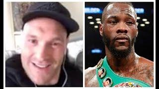 'I CAME BACK BECAUSE DEONTAY WILDER MADE A DISRESPECTFUL COMMENT TO MIKE TYSON' - TYSON FURY REVEALS