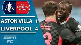 Sadio Mane & Liverpool need HUGE second-half surge to down Aston Villa's youngsters | ESPN FC