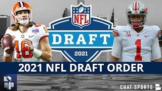 2021 NFL Draft Order For Non-Playoff Teams