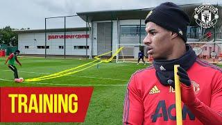 Training | Shooting 101 with Marcus Rashford and Co | Manchester United