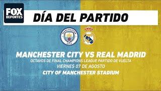 Manchester City vs Real Madrid, frente a frente: Champions League