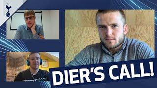 VIDEO CALL | ERIC DIER THANKS MAIDENHEAD SPURS FOR NHS FUNDRAISING