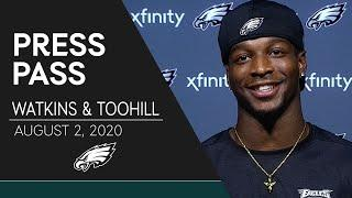 """Quez Watkins """"I'm Locked in on Football"""" 