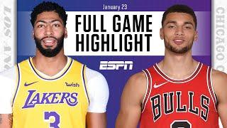Los Angeles Lakers vs. Chicago Bulls [FULL GAME HIGHLIGHTS] | NBA on ESPN