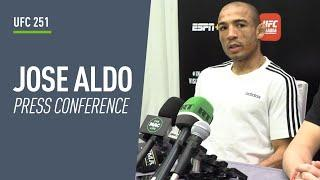 'It's going to be the KO of the night': Jose Aldo talks fighting Petr Yan at UFC 251