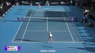A. Barty vs. D. Collins | 2021 Adelaide Round 2 | WTA Match Highlights