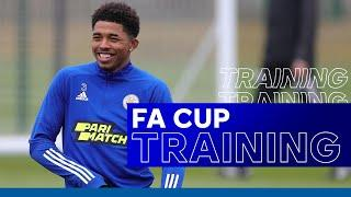 Leicester Train For FA Cup Quarter-Final | Leicester City vs. Manchester United | 2020/21