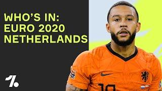 PREDICTING the Netherlands Euro 2020 Starting Lineup!