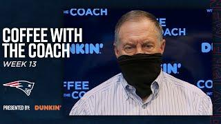 """""""How does Coach Belichick use a long flight to prepare for an opponent?"""" 