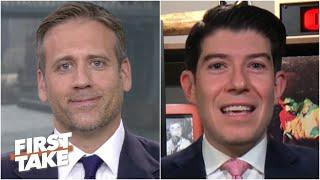 'Are you going to be THAT guy?' Jeff Passan challenges Yankees fan Max Kellerman | First Take
