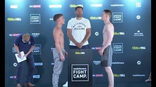 A CONTRACT WITH EDDIE HEARN AT STAKE!  - DALTON SMITH v NATHAN BENNETT WEIGH IN / FIGHT CAMP