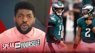 Eagles' decision to start Jalen Hurts over Wentz is a lose-lose situation | NFL | SPEAK FOR YOURSELF