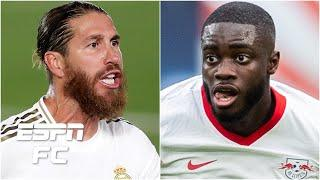 Real Madrid's Sergio Ramos to PSG? Dayot Upamecano leaving Leipzig for Chelsea? | Transfer Rater