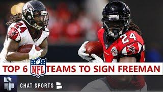 Devonta Freeman Rumors: 6 NFL Teams Most Likely To Sign The Free Agent RB In 2020