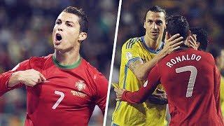 The day Zlatan Ibrahimović and Cristiano Ronaldo faced off in an epic match | Oh My Goal