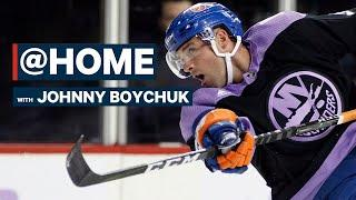 Johnny Boychuk On Bruins 2011 Cup Team Zoom Chat, His Favourite Dessert & More | @Home