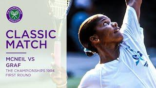 Steffi Graf vs Lori McNeil | Wimbledon 1994 first round | Full Match Replay
