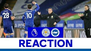 'Three Brilliant Goals & An Enjoyable Performance' - Brendan Rodgers | Leicester City 3 Brighton 0
