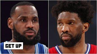 LeBron or Joel Embiid: Who has the better chance to win MVP?   Get Up