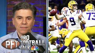 Bengals claim they were going to take Joe Burrow no matter what | Pro Football Talk | NBC Sports